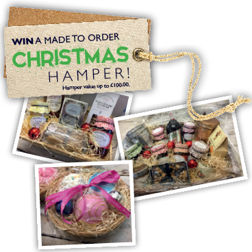 WIN a made to order Christmas Hamper!